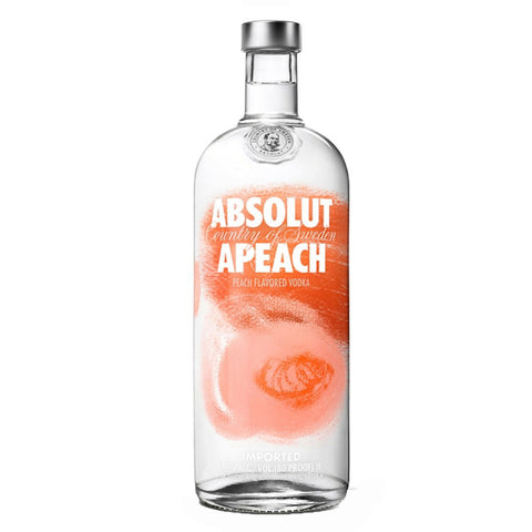 Absolut Apeach Peach Flavored Vodka - 1000ml Vodka - Bevtools Bar and Beverage Tools | Alcohol and Liquor Delivery Makati, Metro Manila, Philippines