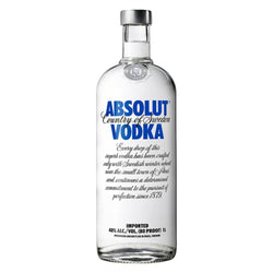 Absolut Blue - 1000ml - Bevtools Bar Tools and Alcohol Delivery