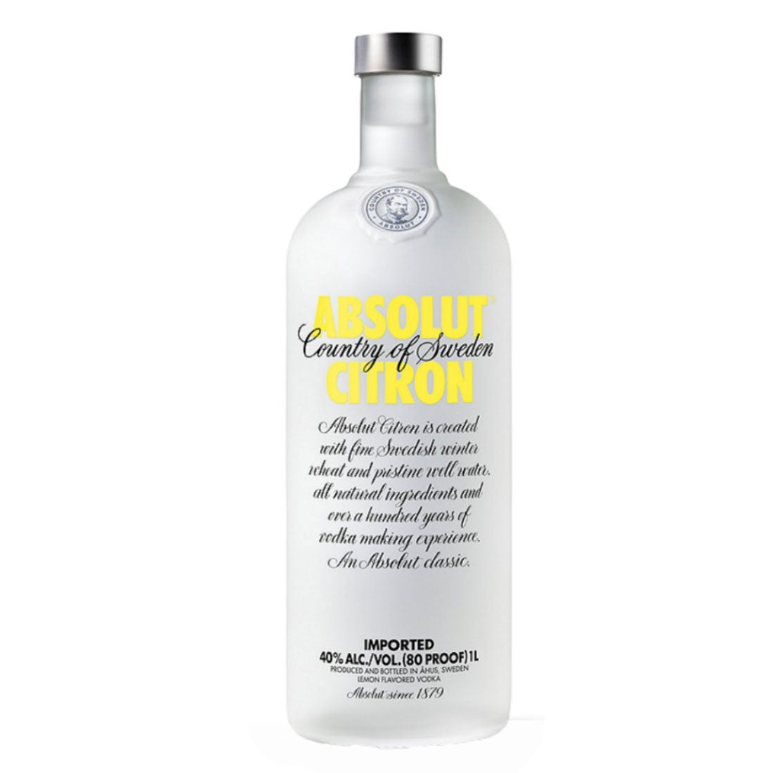Absolut Citron - 1000ml - Bevtools Bar Tools and Alcohol Delivery