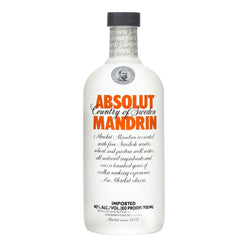 Absolut Mandrin - 750ml - Bevtools Bar Tools and Alcohol Delivery