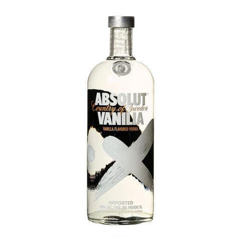 Absolut Vanilla - 1000ml - Bevtools Bar Tools and Alcohol Delivery