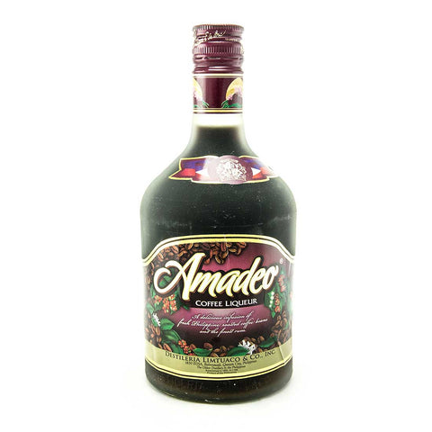 Amadeo Coffee Liqueur - 750ml Coffee Liqueur - Drinkka Alcohol Delivery Best Whiskey Wine Gin Beer Vodkas and more for Parties in Makati BGC Fort and Manila | Bevtools Bar and Beverage Tools