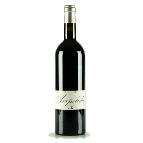 Ampelidae Le K Cabernet 2011 - 750ml Red Wine - Drinkka Alcohol Delivery Best Whiskey Wine Gin Beer Vodkas and more for Parties in Makati BGC Fort and Manila | Bevtools Bar and Beverage Tools