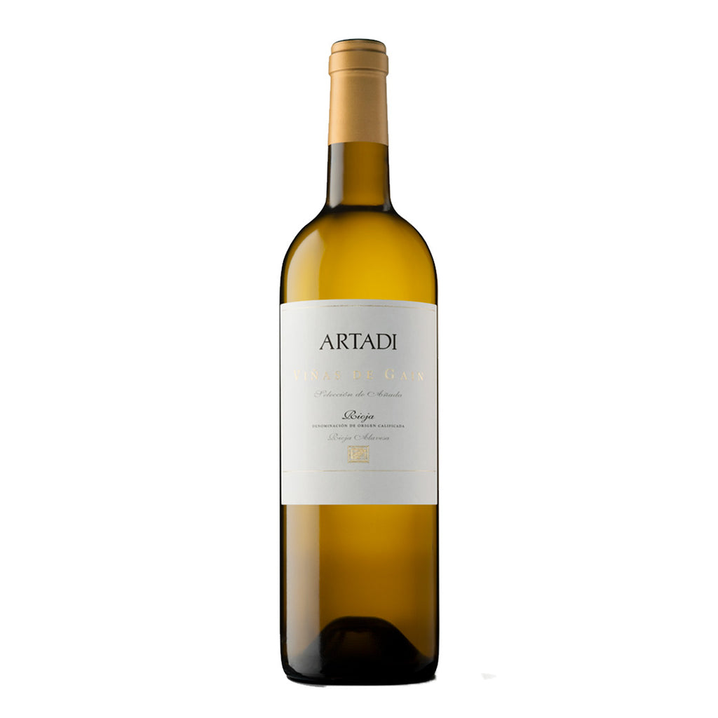 Artadi Vinas de Gain White 2011 - 750ml White Wine - Drinkka Alcohol Delivery Best Whiskey Wine Gin Beer Vodkas and more for Parties in Makati BGC Fort and Manila | Bevtools Bar and Beverage Tools