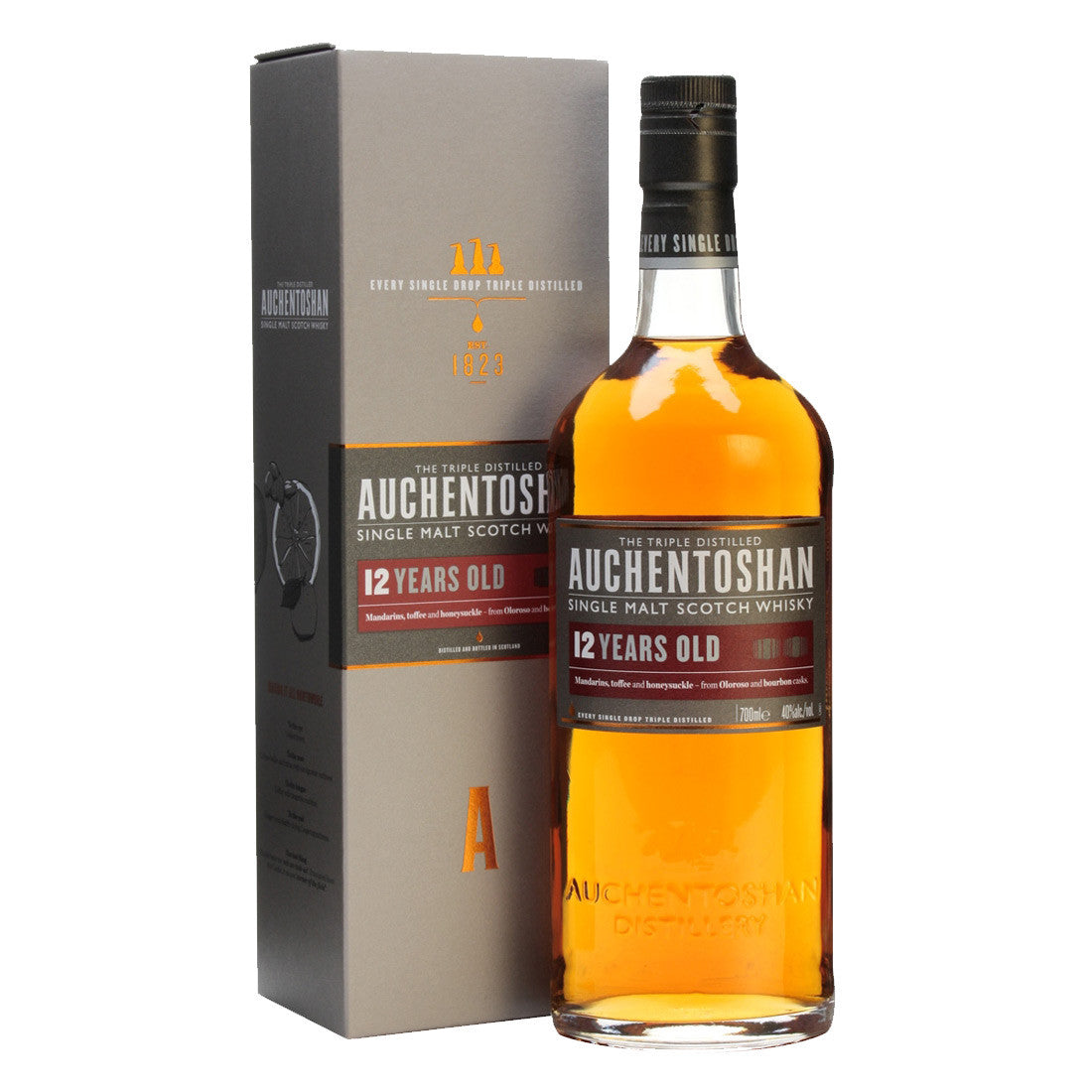 Auchentoshan 12 Years Lowland Single Malt Scotch Whisky - 700ml Whiskey - Drinkka Alcohol Delivery Best Whiskey Wine Gin Beer Vodkas and more for Parties in Makati BGC Fort and Manila | Bevtools Bar and Beverage Tools