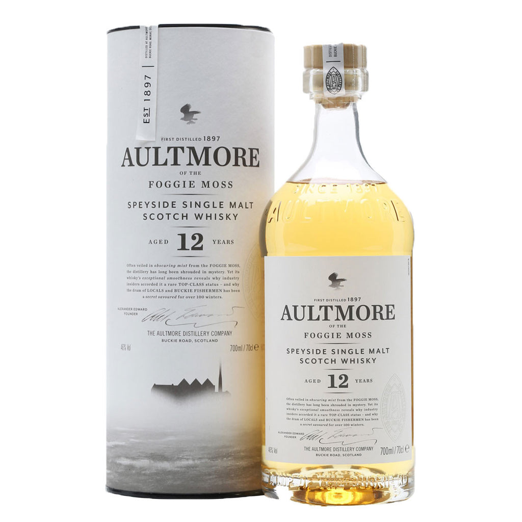 Aultmore 12 Years Speyside Single Malt Scotch Whisky - 700ml Whiskey - Drinkka Alcohol Delivery Best Whiskey Wine Gin Beer Vodkas and more for Parties in Makati BGC Fort and Manila | Bevtools Bar and Beverage Tools