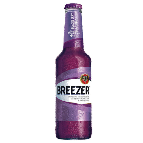 Bacardi Breezer Blackberry Mixer - 275ml Other Beverages - Drinkka Alcohol Delivery Best Whiskey Wine Gin Beer Vodkas and more for Parties in Makati BGC Fort and Manila | Bevtools Bar and Beverage Tools