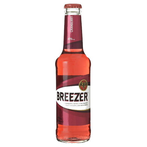 Bacardi Breezer Cranberry Mixer - 275ml Other Beverages - Drinkka Alcohol Delivery Best Whiskey Wine Gin Beer Vodkas and more for Parties in Makati BGC Fort and Manila | Bevtools Bar and Beverage Tools