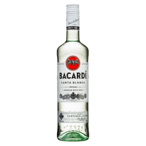 Bacardi Superior White Rum - 750ml Rum - Drinkka Alcohol Delivery Best Whiskey Wine Gin Beer Vodkas and more for Parties in Makati BGC Fort and Manila | Bevtools Bar and Beverage Tools