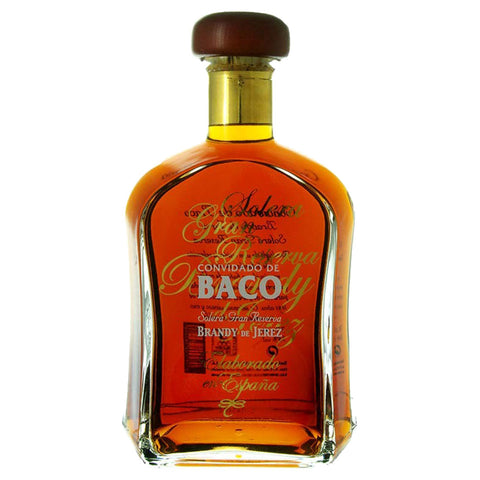 Baco Solera Brandy De Jerez - 1000ml Cognac & Brandy - Drinkka Alcohol Delivery Best Whiskey Wine Gin Beer Vodkas and more for Parties in Makati BGC Fort and Manila | Bevtools Bar and Beverage Tools