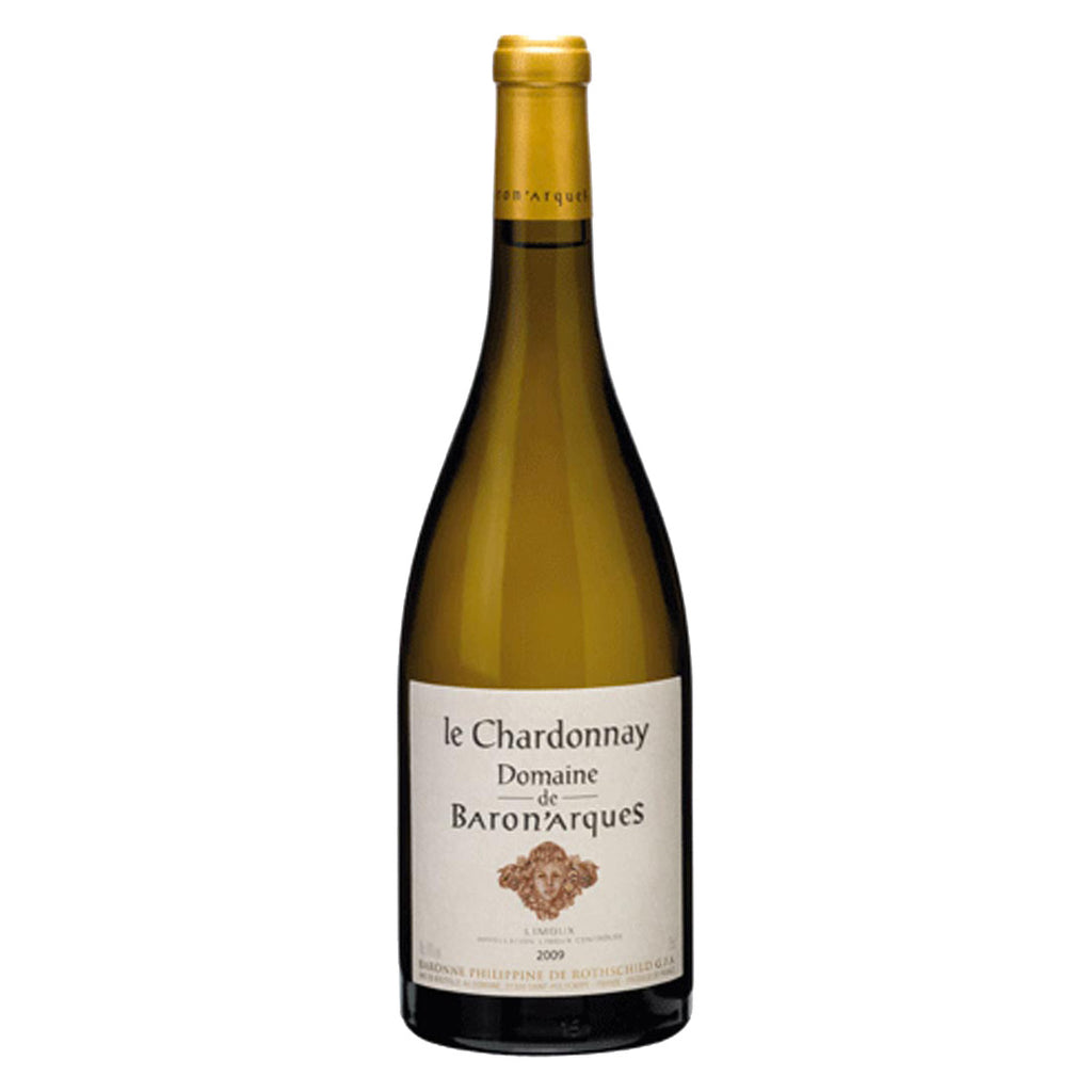 Domaine La Chardonnay de Baron Arques 2012 - 750ml White Wine - Drinkka Alcohol Delivery Best Whiskey Wine Gin Beer Vodkas and more for Parties in Makati BGC Fort and Manila | Bevtools Bar and Beverage Tools