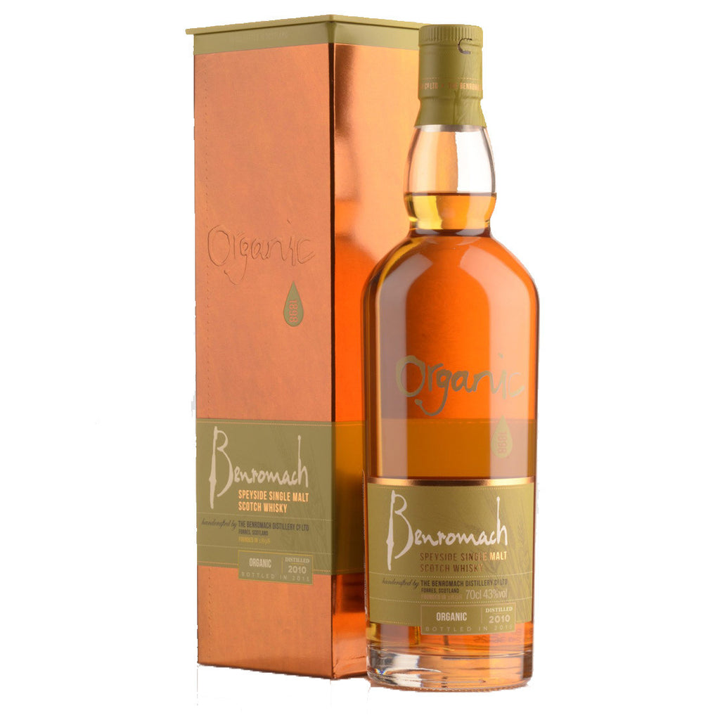 Benromach Organic 2008 Speyside Single Malt Scotch Whisky - 700ml Whiskey - Drinkka Alcohol Delivery Best Whiskey Wine Gin Beer Vodkas and more for Parties in Makati BGC Fort and Manila | Bevtools Bar and Beverage Tools