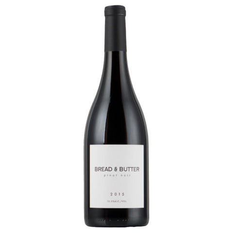 Bread & Butter Pinot Noir 2015 - 750ml Wine - Drinkka Alcohol Delivery Best Whiskey Gin Beer Vodkas and more in Makati and Manila | Bevtools Bar and Beverage Tools