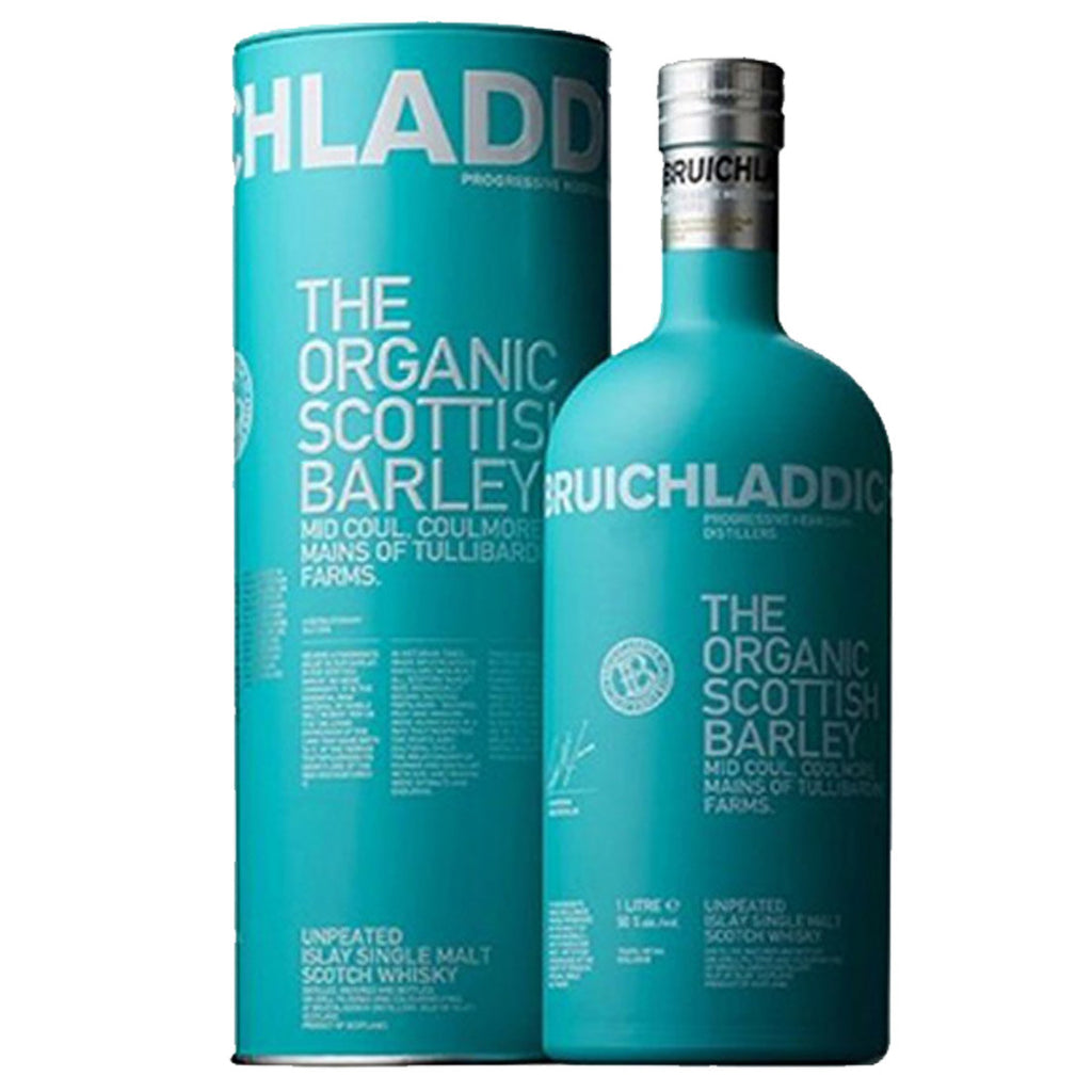 Bruichladdich Organic Islay Single Malt Scotch Whisky - 1000ml Whiskey - Drinkka Alcohol Delivery Best Whiskey Wine Gin Beer Vodkas and more for Parties in Makati BGC Fort and Manila | Bevtools Bar and Beverage Tools