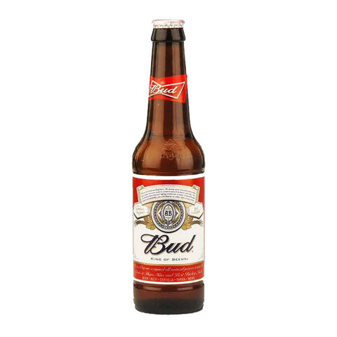 Budweiser American Style Beer (2 Bottles) - 330ml Imported Beer - Drinkka Alcohol Delivery Best Whiskey Wine Gin Beer Vodkas and more for Parties in Makati BGC Fort and Manila | Bevtools Bar and Beverage Tools