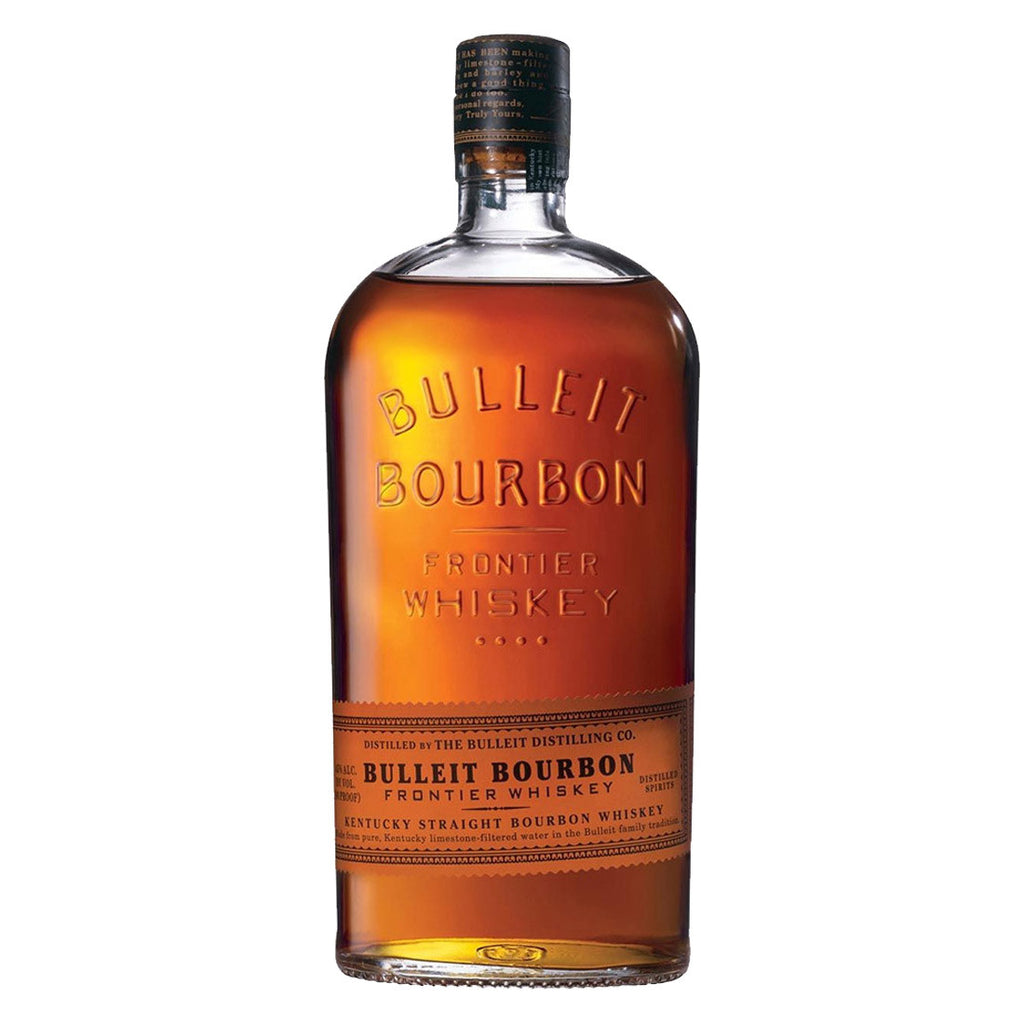 Bulleit Bourbon Whiskey - 1000ml Whiskey - Drinkka Alcohol Delivery Best Whiskey Wine Gin Beer Vodkas and more for Parties in Makati BGC Fort and Manila | Bevtools Bar and Beverage Tools