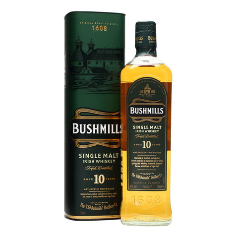 Bushmills Malt 10 Years - 700ml - Bevtools Bar Tools and Alcohol Delivery
