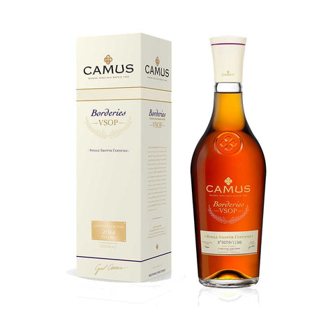 Camus Borderies VSOP Limited Edition 2015 - 700ml Cognac & Brandy - Drinkka Alcohol Delivery Best Whiskey Wine Gin Beer Vodkas and more for Parties in Makati BGC Fort and Manila | Bevtools Bar and Beverage Tools