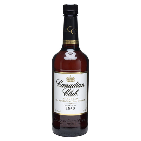 Canadian Club Canadian Whiskey - 750ml Whiskey - Bevtools Bar and Beverage Tools | Alcohol and Liquor Delivery Makati, Metro Manila, Philippines