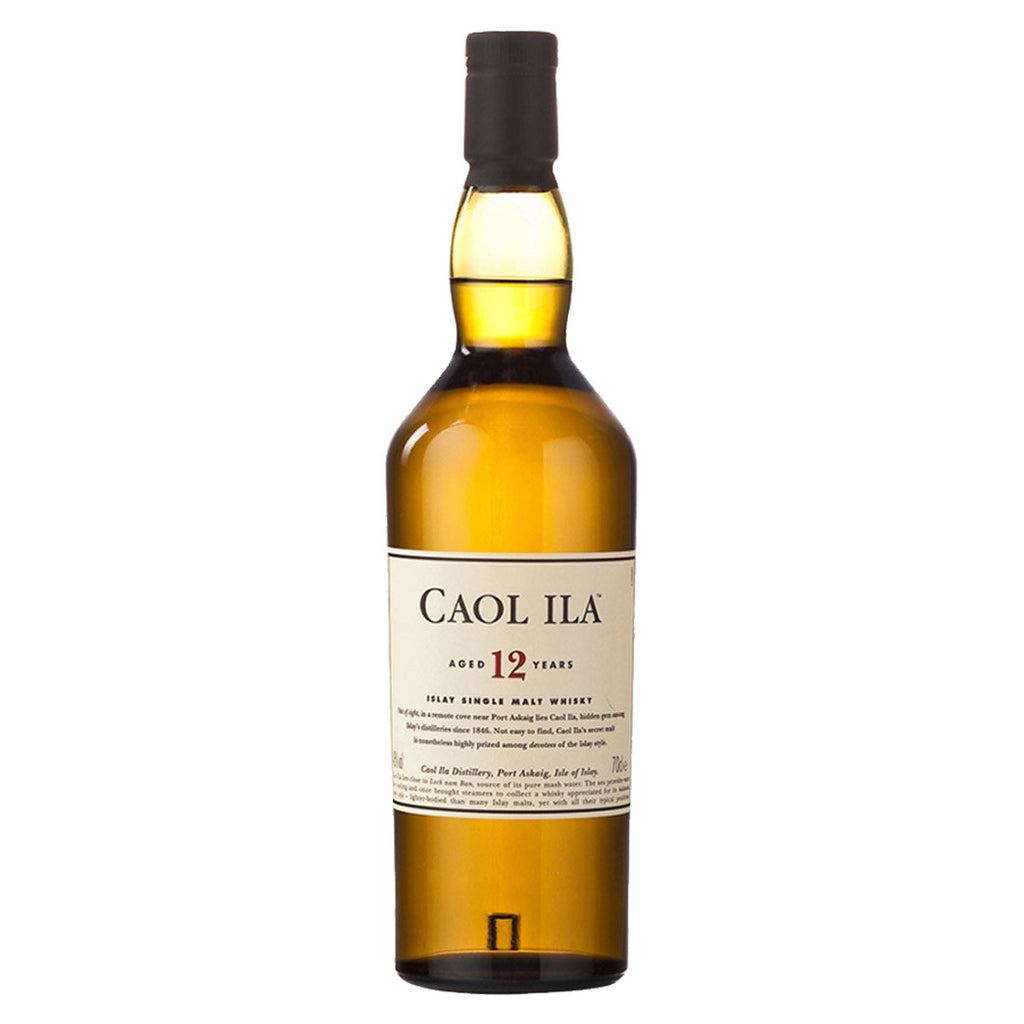 Caol Ila 12 Years Islay Single Malt Whisky - 700ml Whiskey - Drinkka Alcohol Delivery Best Whiskey Wine Gin Beer Vodkas and more for Parties in Makati BGC Fort and Manila | Bevtools Bar and Beverage Tools