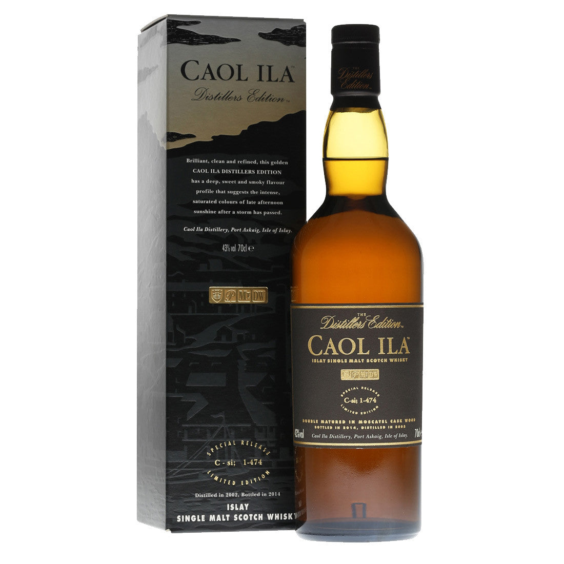 Caol Ila Double Matured Distillers Edition Islay Single Malt Whisky - 700ml Whiskey - Bevtools Bar and Beverage Tools | Alcohol and Liquor Delivery Makati, Metro Manila, Philippines