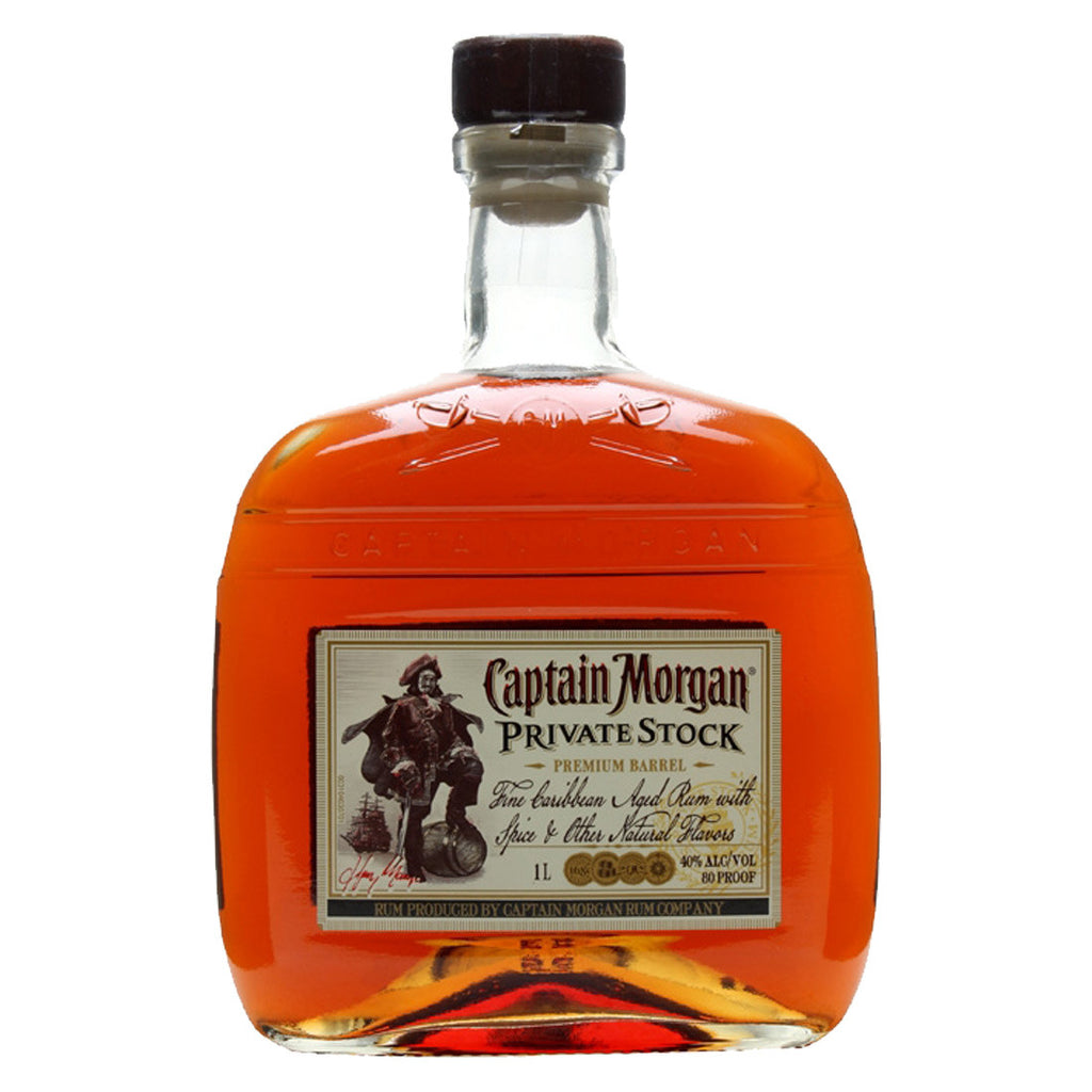 Captain Morgan Rum Private Stock - 1000ml Rum - Drinkka Alcohol Delivery Best Whiskey Wine Gin Beer Vodkas and more for Parties in Makati BGC Fort and Manila | Bevtools Bar and Beverage Tools