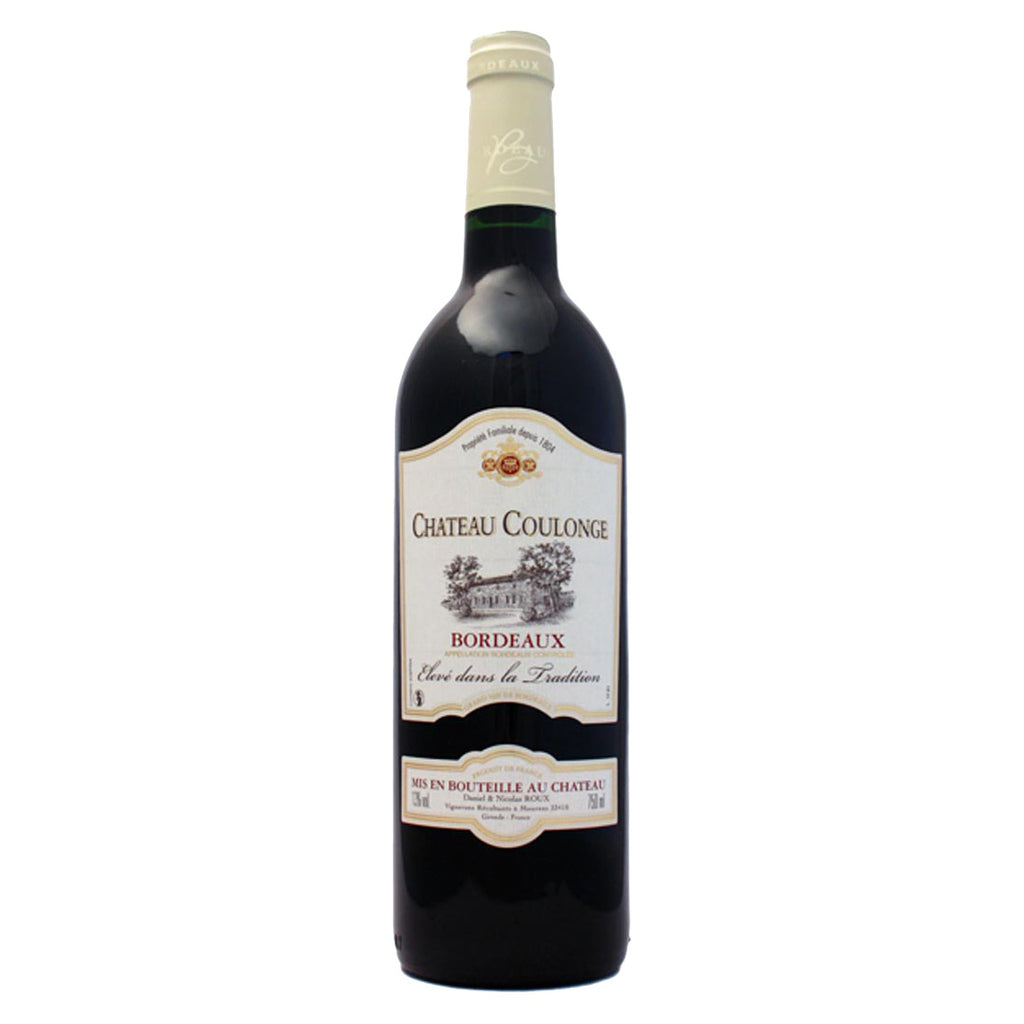 Chateau Coulonge Bordeaux 2011 - 750ml Red Wine - Drinkka Alcohol Delivery Best Whiskey Wine Gin Beer Vodkas and more for Parties in Makati BGC Fort and Manila | Bevtools Bar and Beverage Tools