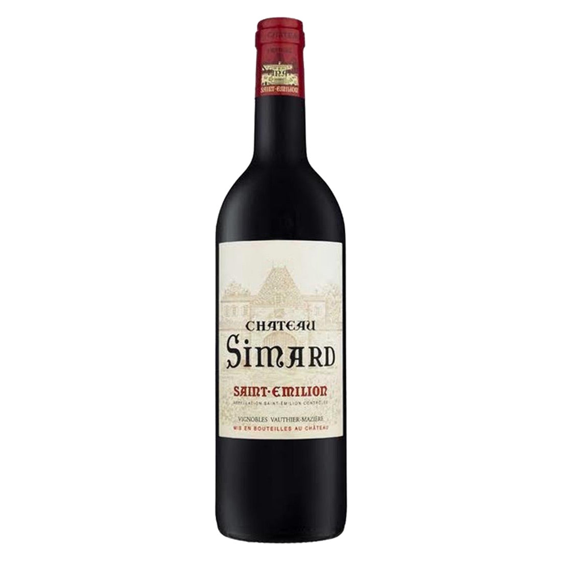 Chateau Simard Saint Emilion Grand Cru 2011 - 750ml Red Wine - Drinkka Alcohol Delivery Best Whiskey Wine Gin Beer Vodkas and more for Parties in Makati BGC Fort and Manila | Bevtools Bar and Beverage Tools