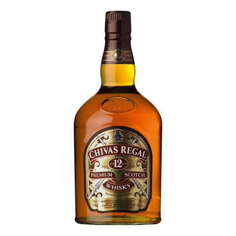 Chivas Regal 12 Years - 1000ml - Bevtools Bar Tools and Alcohol Delivery