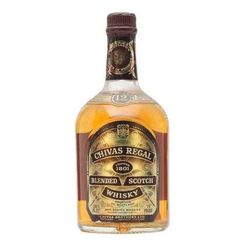 Chivas Regal 12 Years - 750ml - Bevtools Bar Tools and Alcohol Delivery