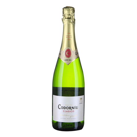 Codorniu Clasico Semi Sec NV - 750ml Sparkling Wine - Drinkka Alcohol Delivery Best Whiskey Wine Gin Beer Vodkas and more for Parties in Makati BGC Fort and Manila | Bevtools Bar and Beverage Tools