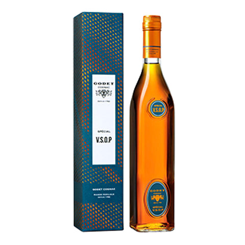Cognac Godet VSOP Special - 700ml Cognac & Brandy - Drinkka Alcohol Delivery Best Whiskey Wine Gin Beer Vodkas and more for Parties in Makati BGC Fort and Manila | Bevtools Bar and Beverage Tools