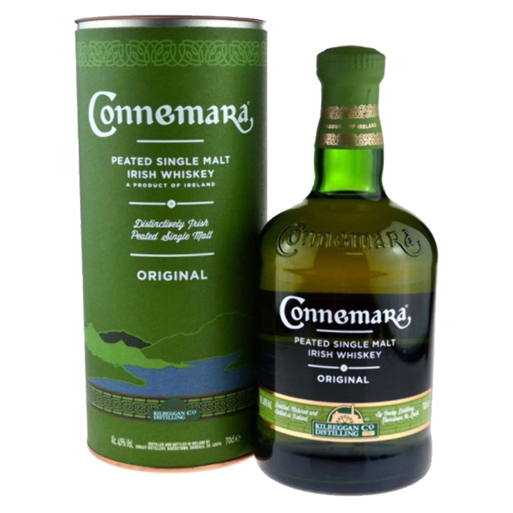 Connemara Peated Single Malt Irish Whiskey- 700ml Whiskey - Drinkka Alcohol Delivery Best Whiskey Wine Gin Beer Vodkas and more for Parties in Makati BGC Fort and Manila | Bevtools Bar and Beverage Tools