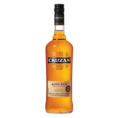 Cruzan Dark Rum - 750ml Rum - Drinkka Alcohol Delivery Best Whiskey Wine Gin Beer Vodkas and more for Parties in Makati BGC Fort and Manila | Bevtools Bar and Beverage Tools