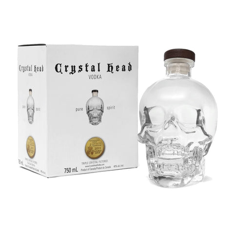 Crystal Head Premium Vodka - 750ml Premium Vodka - Drinkka Alcohol Delivery Best Whiskey Wine Gin Beer Vodkas and more for Parties in Makati BGC Fort and Manila | Bevtools Bar and Beverage Tools
