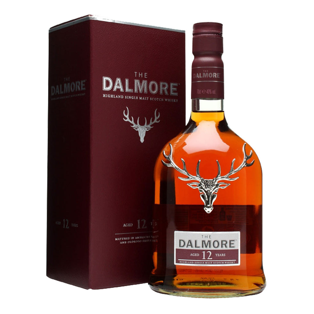 Dalmore 12 Years Highland Single Malt Scotch Whisky - 700ml Whiskey - Drinkka Alcohol Delivery Best Whiskey Gin Beer Vodkas and more in Makati and Manila | Bevtools Bar and Beverage Tools