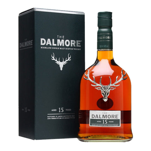 Dalmore 15 Years Highland Single Malt Scotch Whisky - 700ml Whiskey - Bevtools Bar and Beverage Tools | Alcohol and Liquor Delivery Makati, Metro Manila, Philippines