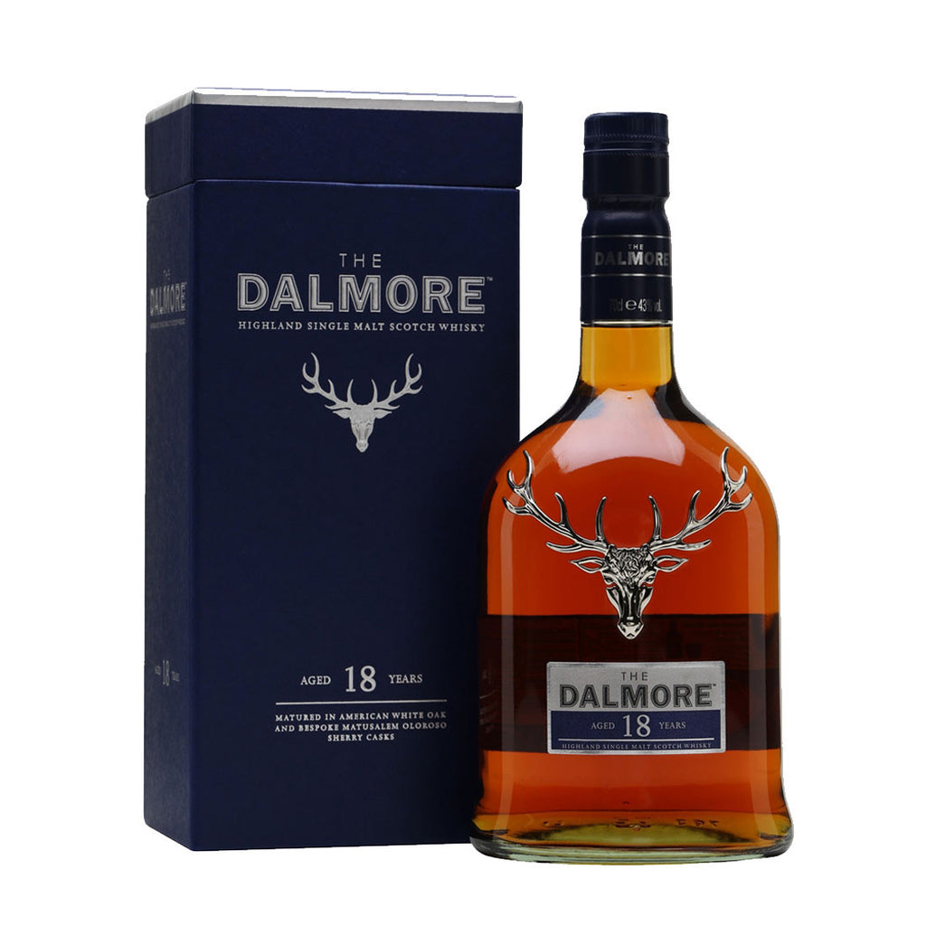 Dalmore 18 Years Highland Single Malt Scotch Whisky - 700ml Whiskey - Drinkka Alcohol Delivery Best Whiskey Wine Gin Beer Vodkas and more for Parties in Makati BGC Fort and Manila | Bevtools Bar and Beverage Tools