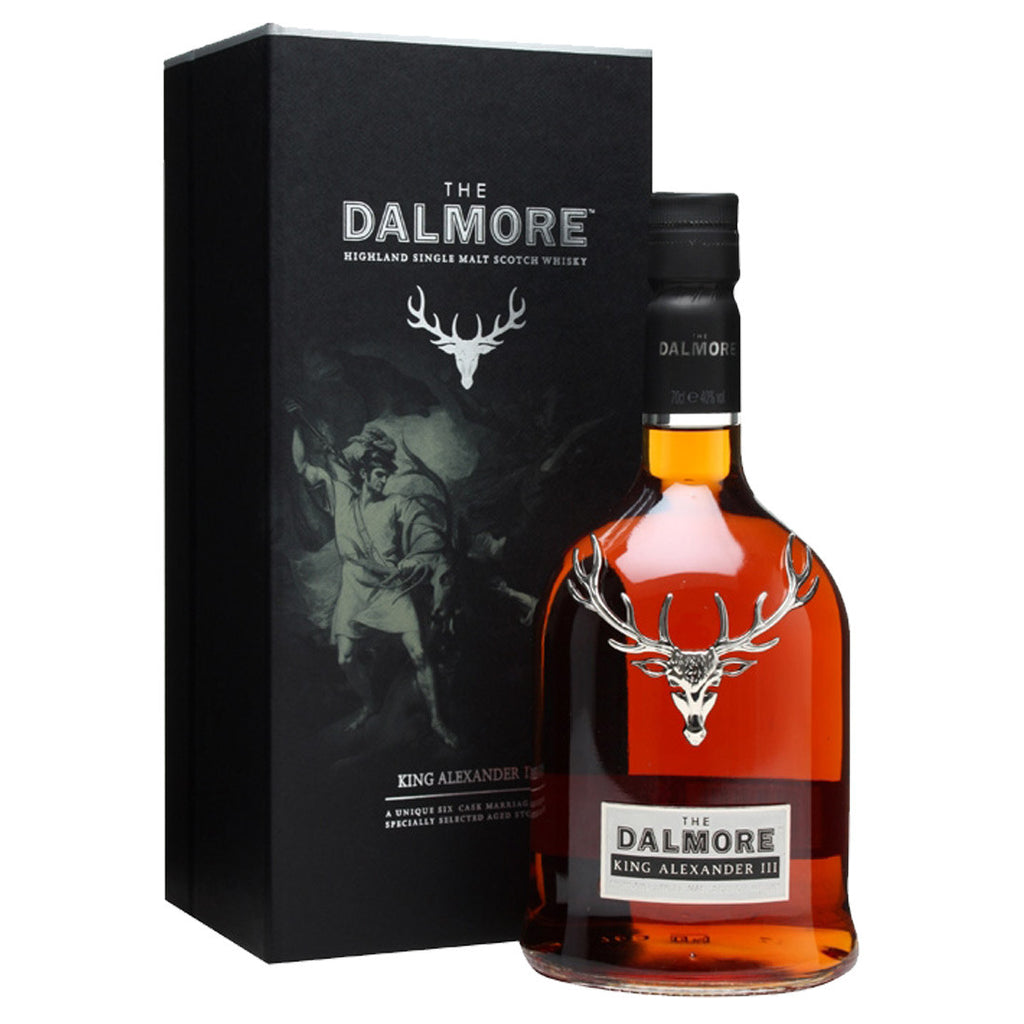 Dalmore King Alex III Highland Single Malt Scotch Whisky - 700ml Whiskey - Drinkka Alcohol Delivery Best Whiskey Wine Gin Beer Vodkas and more for Parties in Makati BGC Fort and Manila | Bevtools Bar and Beverage Tools