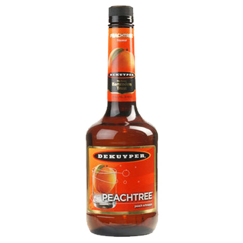 Dekuyper Peachtree Liqueur - 700ml Liqueurs & Syrups - Bevtools Bar and Beverage Tools | Alcohol and Liquor Delivery Makati, Metro Manila, Philippines