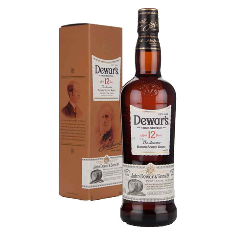 Dewar's 12 Years - 750ml - Bevtools Bar Tools and Alcohol Delivery