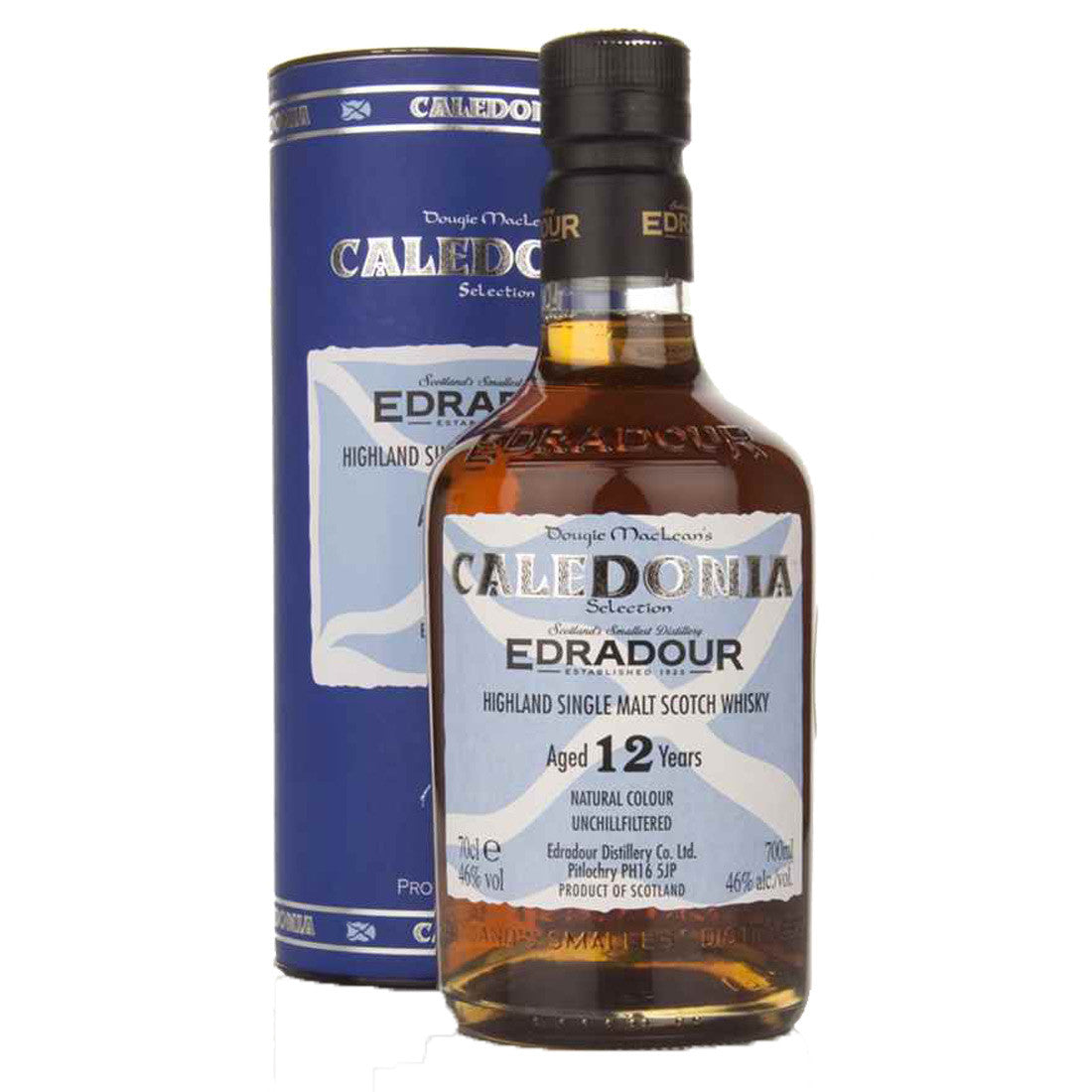 Edradour 12 Years Caledonia Highland Single Malt Scotch Whisky - 700ml Whiskey - Drinkka Alcohol Delivery Best Whiskey Gin Beer Vodkas and more in Makati and Manila | Bevtools Bar and Beverage Tools
