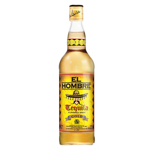 El Hombre Gold Tequila  - 750ml - Bevtools Bar Tools and Alcohol Delivery