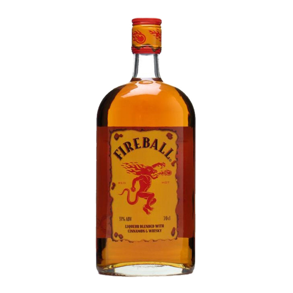 Fireball Cinnamon Canadian Whiskey - 700ml Whiskey - Drinkka Alcohol Delivery Best Whiskey Wine Gin Beer Vodkas and more for Parties in Makati BGC Fort and Manila | Bevtools Bar and Beverage Tools