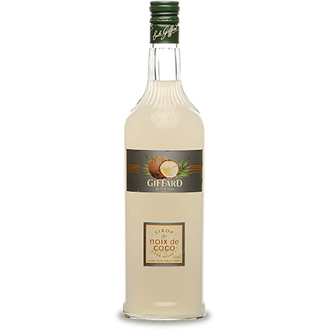 Giffard Noix de Coco (Coconut ) Syrup - 1000ml Syrups - Drinkka Alcohol Delivery Best Whiskey Wine Gin Beer Vodkas and more for Parties in Makati BGC Fort and Manila | Bevtools Bar and Beverage Tools
