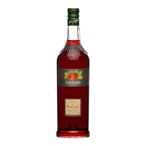 Giffard Fraises (Strawberry) Syrup -1000ml Berry Liqueur - Drinkka Alcohol Delivery Best Whiskey Wine Gin Beer Vodkas and more for Parties in Makati BGC Fort and Manila | Bevtools Bar and Beverage Tools