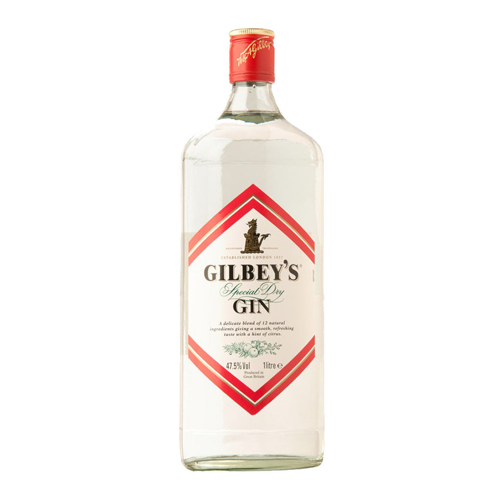Gilbey's Gin - 1000ml - Bevtools Bar Tools and Alcohol Delivery