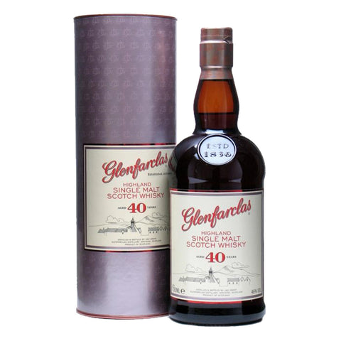 Glenfarclas 40 Years Speyside Single Malt Scotch Whisky - 700ml Whiskey - Bevtools Bar and Beverage Tools | Alcohol and Liquor Delivery Makati, Metro Manila, Philippines