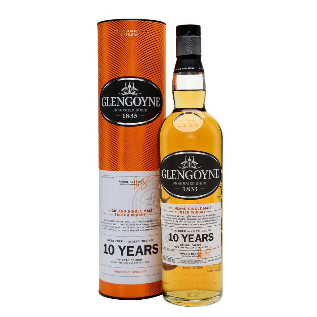 Glengoyne 10 Years Highland Single Malt Scotch Whisky - 700ml Whiskey - Drinkka Alcohol Delivery Best Whiskey Wine Gin Beer Vodkas and more for Parties in Makati BGC Fort and Manila | Bevtools Bar and Beverage Tools