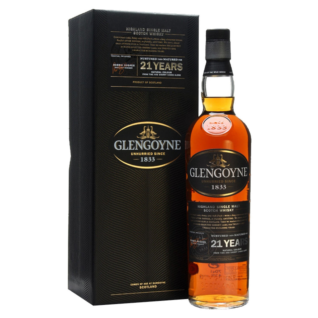 Glengoyne 21 Years Highland Single Malt Scotch Whisky - 700ml Whiskey - Drinkka Alcohol Delivery Best Whiskey Wine Gin Beer Vodkas and more for Parties in Makati BGC Fort and Manila | Bevtools Bar and Beverage Tools